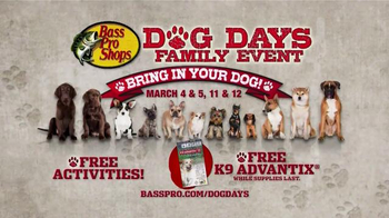 Bass Pro Shops Dog Days Family Event TV Spot, 'Life Jacket and Reels' - Thumbnail 10