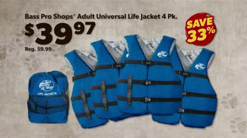 Bass Pro Shops Dog Days Family Event TV Spot, 'Life Jacket and Reels' - Thumbnail 7