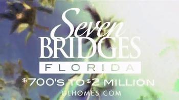 GL Homes Seven Bridges Florida TV Spot, 'Florida Warmth' - Thumbnail 7