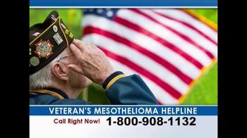 Weitz and Luxenberg TV Spot, 'Veteran's Mesothelioma Helpline' - Thumbnail 2