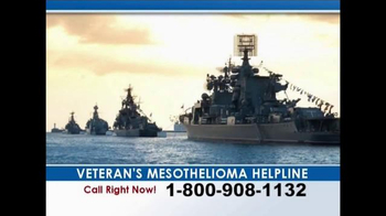 Weitz and Luxenberg TV Spot, 'Veteran's Mesothelioma Helpline' - Thumbnail 3