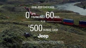 2016 Jeep Cherokee Trailhawk TV Spot, 'No Boundaries' - Thumbnail 9
