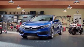 Honda Gran Venta el Garaje de Tus Sueños TV Spot, '2016 Civic LX' [Spanish] - 380 commercial airings