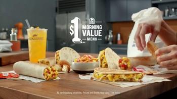 Taco Bell $1 Morning Value Menu TV Spot, 'People Want: Dollar' - Thumbnail 4