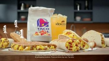 Taco Bell $1 Morning Value Menu TV Spot, 'People Want: Dollar' - Thumbnail 1