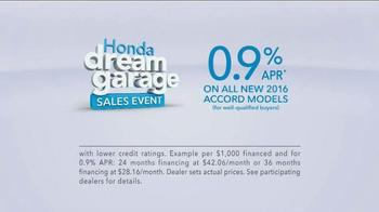 Honda Dream Garage Sales Event TV Spot, 'Workout' - Thumbnail 10