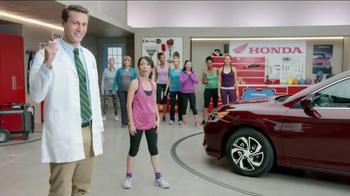 Honda Dream Garage Sales Event TV Spot, 'Workout'