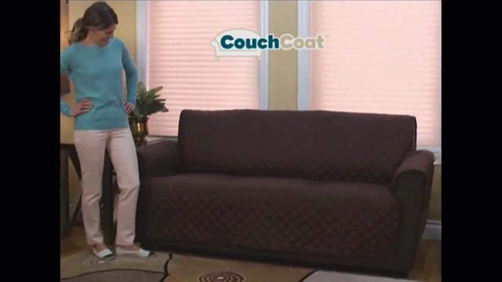 Couch Coat Tv Commercial Reversible Couch Protector