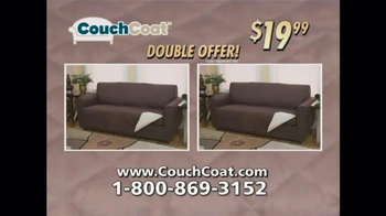 Couch Coat TV Spot, 'Reversible Couch Protector' - Thumbnail 7