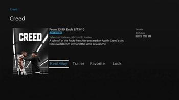 XFINITY On Demand TV Spot, 'Creed' - Thumbnail 3