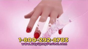 Spray Perfect TV Spot, 'Spray On Nail Polish' - Thumbnail 5