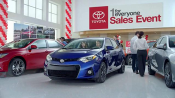 Toyota 1 for Everyone Sales Event TV Spot, 'Sound System: 2016 Corolla' - Thumbnail 1