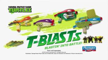 Teenage Mutant Ninja Turtles T-Blasts TV Spot, 'Blasting Into Battle' - Thumbnail 9