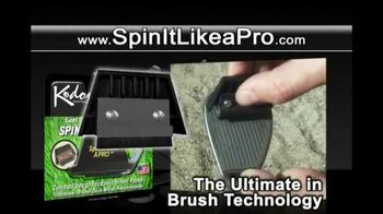 KDON Technology Spin It Like a Pro TV Spot, 'Groove Brush and Sharpener' - Thumbnail 6