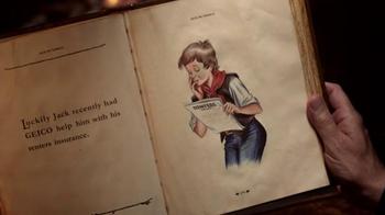 GEICO TV Spot, 'Short Stories & Tall Tales: Jack Be Nimble' - Thumbnail 4