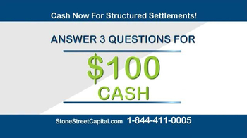 Stone Street Capital TV Spot, 'Structured Settlement: $100 Cash' - Thumbnail 4
