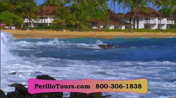 Perillo Tours TV Spot, 'Natural Beauty of Hawaii' - 128 commercial airings