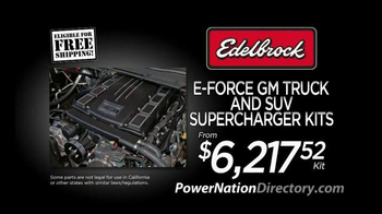 PowerNation Directory TV Spot, 'Traction Systems and Supercharger Kits' - Thumbnail 7