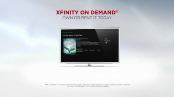 XFINITY On Demand TV Spot, 'In the Heart of the Sea' - Thumbnail 7
