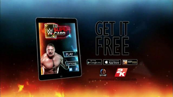 WWE Super Card TV Spot, 'In the Ring' - Thumbnail 9