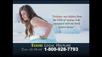 McCuneWright, LLP TV Spot, 'Essure Contraceptive Implant' - Thumbnail 4