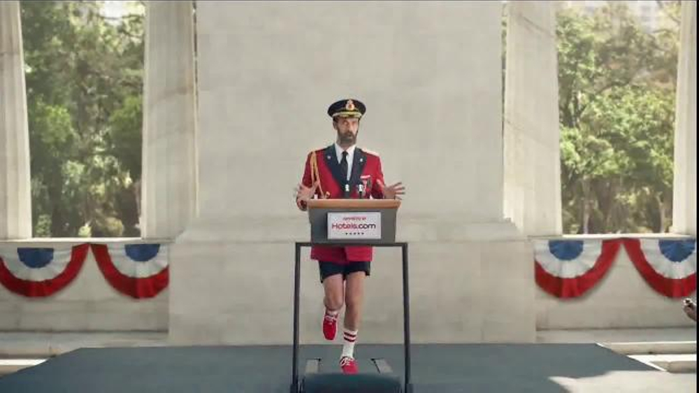 Hotels.com TV Commercial, 'Captain Obvious Runs for President'