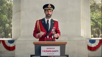 Hotels.com TV Spot, 'Captain Obvious Runs for President' - Thumbnail 1