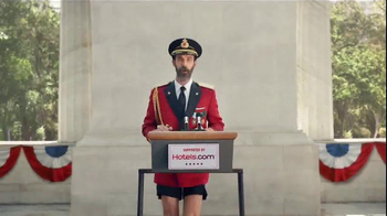 Hotels.com TV Spot, 'Captain Obvious Runs for President' - Thumbnail 2