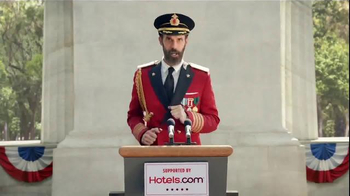 Hotels.com TV Spot, 'Captain Obvious Runs for President' - Thumbnail 6