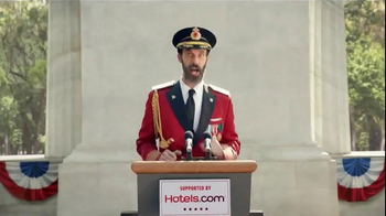 Hotels.com TV Spot, 'Captain Obvious Runs for President' - Thumbnail 7
