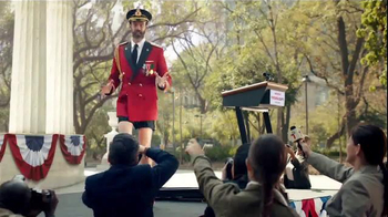 Hotels.com TV Spot, 'Captain Obvious Runs for President' - Thumbnail 8