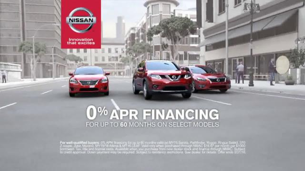 Nissan Now Sales Event TV Commercial, 'A Lot to See ...