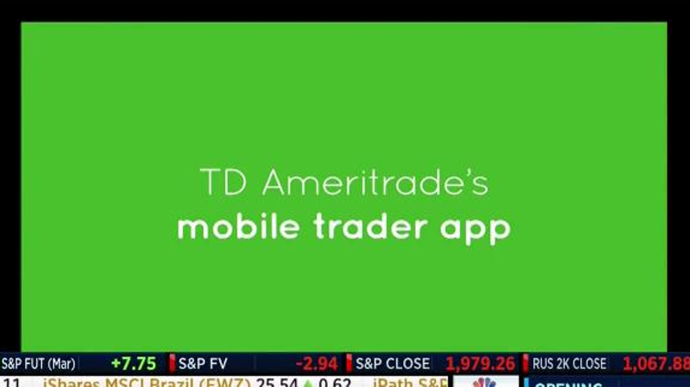 TD Ameritrade Mobile Trader App TV Commercial, 'First Place Trophy' - Video