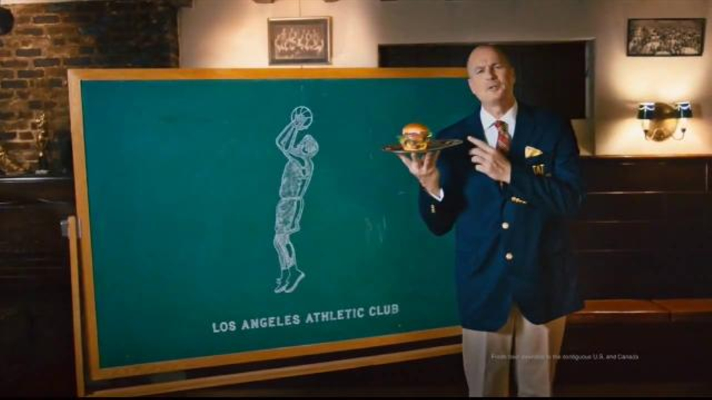 Wendys Tv Commercial John R Wooden Award Video