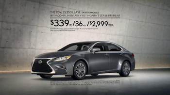 Lexus Command Performance Sales Event TV Spot, 'Luxury Special' - Thumbnail 8