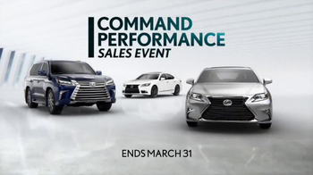 Lexus Command Performance Sales Event TV Spot, 'Luxury Special' - Thumbnail 6