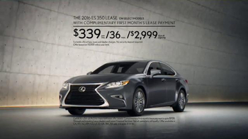 Lexus Command Performance Sales Event TV Spot, 'Luxury Special' - Thumbnail 7