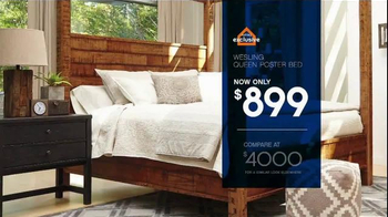 Ashley Furniture Homestore Save & Style Event TV Spot, 'Poster Bed' - Thumbnail 3
