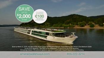 Emerald Waterways TV Spot, 'Bonus Euro' - Thumbnail 9