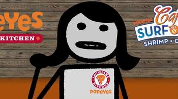 Popeyes TV Spot, 'Adult Swim: Choose Shrimp' - Thumbnail 7