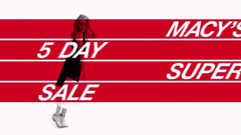Macy's 5 Day Super Sale TV Spot, 'Hottest New Trends' - Thumbnail 2