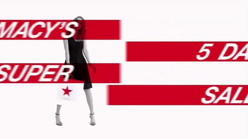 Macy's 5 Day Super Sale TV Spot, 'Hottest New Trends' - Thumbnail 3