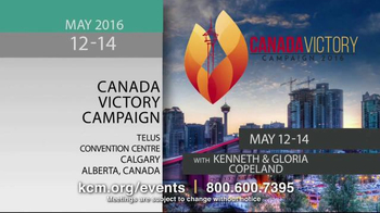 Kenneth Copeland Ministries TV Spot, '2016 KCM Events: April-May' - Thumbnail 4