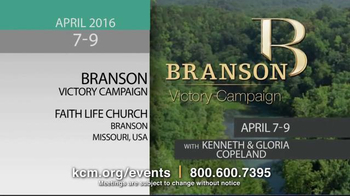Kenneth Copeland Ministries TV Spot, '2016 KCM Events: April-May' - Thumbnail 2