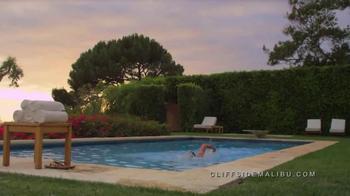 Cliffside Malibu TV Spot, 'Personal Storm' - Thumbnail 9