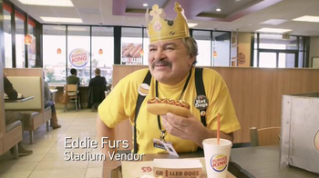 Burger King Grilled Dogs TV Spot, 'Stadium' - Thumbnail 1