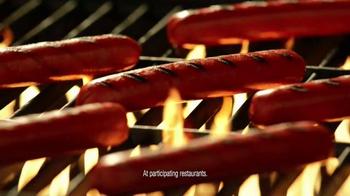 Burger King Grilled Dogs TV Spot, 'Stadium' - Thumbnail 4