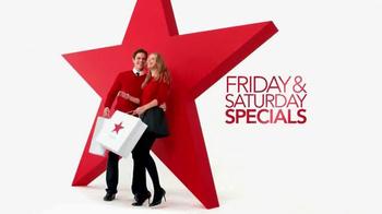 Macy's Super Saturday Sale TV Spot, 'Diamond Earrings, Dresses and Kitchen' - Thumbnail 2