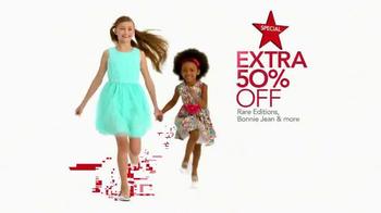 Macy's Super Saturday Sale TV Spot, 'Diamond Earrings, Dresses and Kitchen' - Thumbnail 4