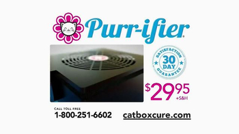 Purr-ifier TV Spot, 'Get Rid of That Kitty Litter Box Odor!' - Thumbnail 9